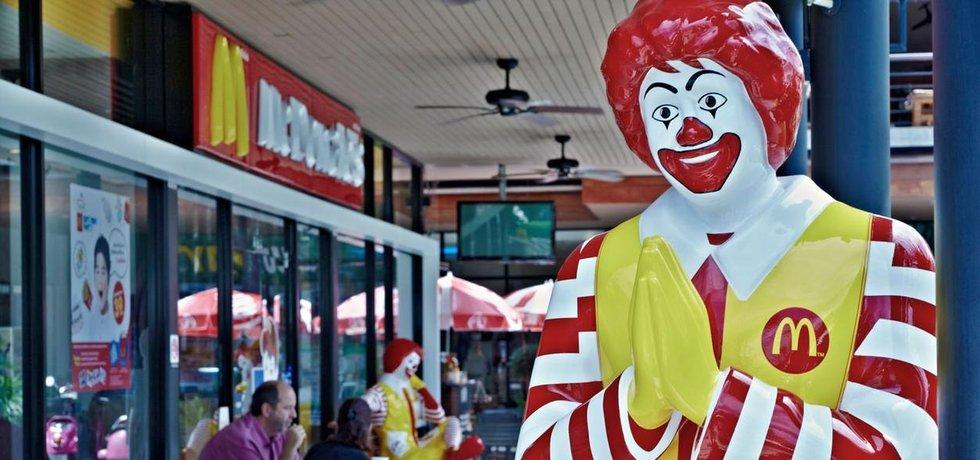 Ronald McDonald masko řetězce rychlého občerstvení McDonald's