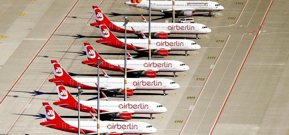 Letadla Air Berlin