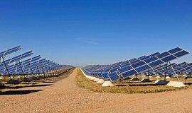 Solární elektrárna ve Španělsku, ilustrační foto