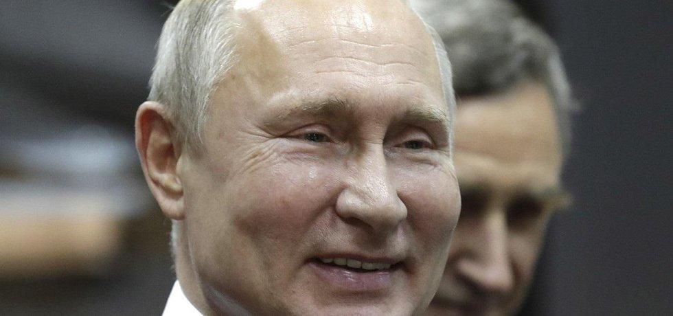 Ruský prezident Vladimir Putin, ilustrační foto