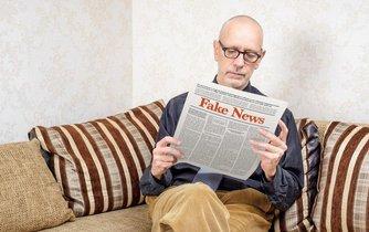 Falešné zprávy, ilustrační foto