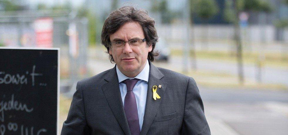 Katalánský expremiér Carles Puigdemont