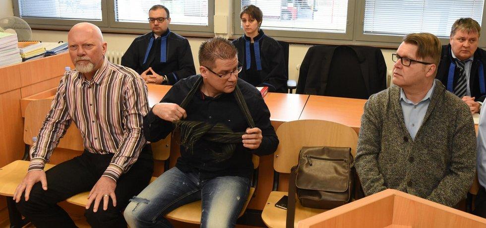 Soud s Petrem Kušnierzem, archivní foto