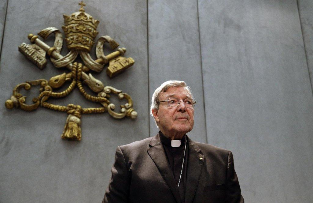 Kardinál George Pell, kterého australská policie obvinila ze zneužívání dětí