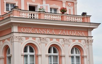 Historická budova záložny ve Vlašimi