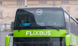 Flixbus v Praze, ilustrační foto