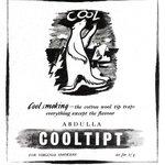 Lední medvěd sliboval v roce 1946 cool kouření s cool filtry.