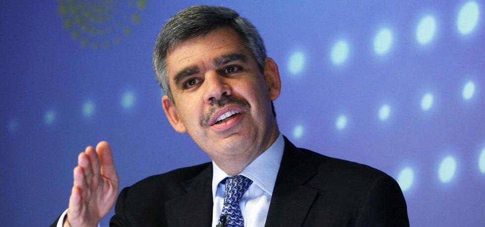 Mohamed El-Arian, hlavní ekonomický poradce Allianz a poradce amerického prezidenta Baracka Obamy