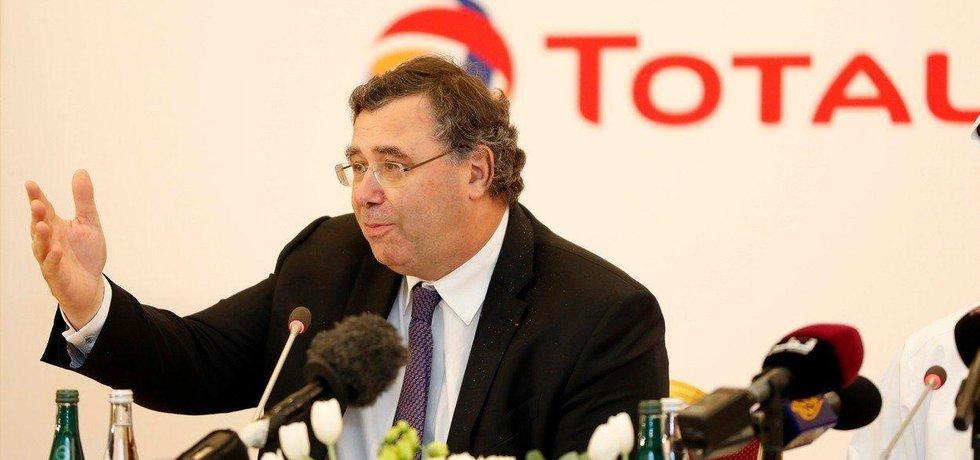 Šéf firmy Total Patrick Pouyanne