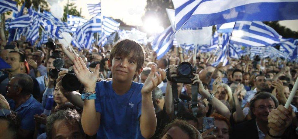 Volby v Řecku, ilustrační foto