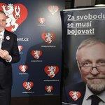 """""""Chtěl bych vyzvat všechny podporovatele, aby dali hlas Drahošovi, bude to dobrá volba pro Českou republiku. Ve druhém kole, pokud se síly spojí, nebude bez šance,"""" uvedl Mirek Topolánek."""