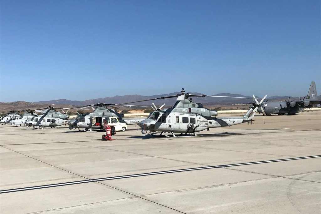Letky vybavené venomy sídlí na základně Camp Pendleton u kalifornského San Diega.