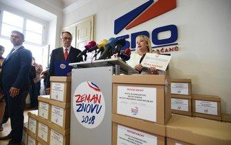 Šéfka volebního týmu a první dáma Ivana Zemanová
