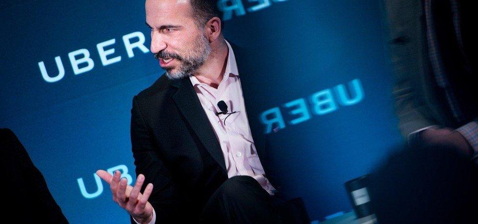 CEO Uberu Dara Khosrowshahi