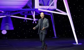 Zakladatel Blue Origin a nejbohatší člověk světa Jeff Bezos