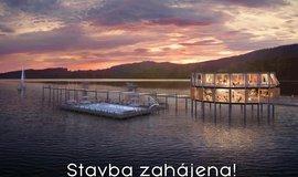 MOLO Lipno Resort zahájil výstavbu.