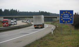 Hranice mezi ČR a Německem u Rozvadova (Zdroj: Rasch Jan/Euro)