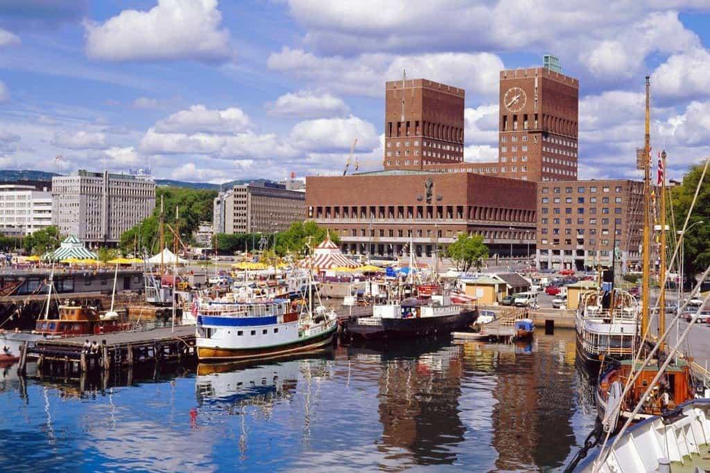 9. Oslo, Norsko