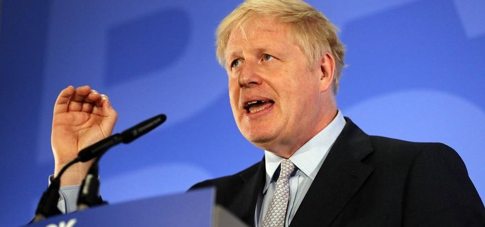 Kandidát na britského premiéra Boris Johnson