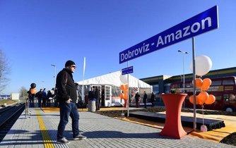 Železniční stanice Dobrovíz-Amazon