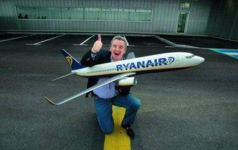 Šéf Ryanairu Michael O'Leary
