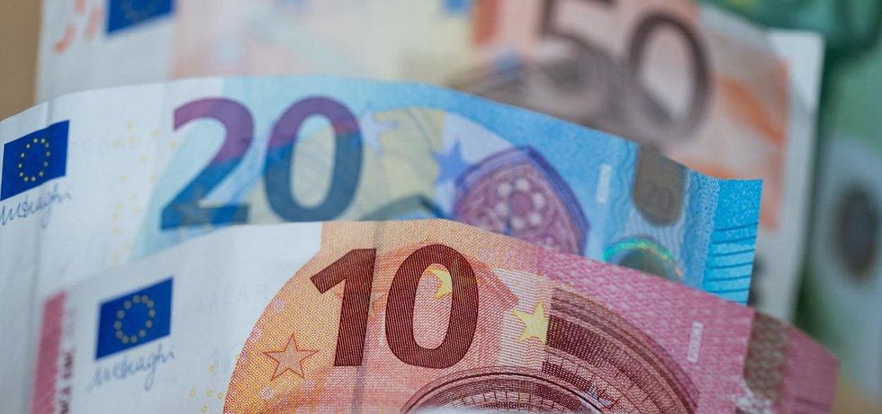 Euro - bankovky, ilustrační foto