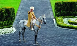 Turkmenský Prezident Gurbanguly Berdymuchamedov je letos ve funkci již třináctým rokem