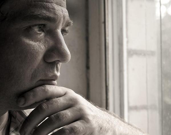 deprese, úzkost, smutek, stres