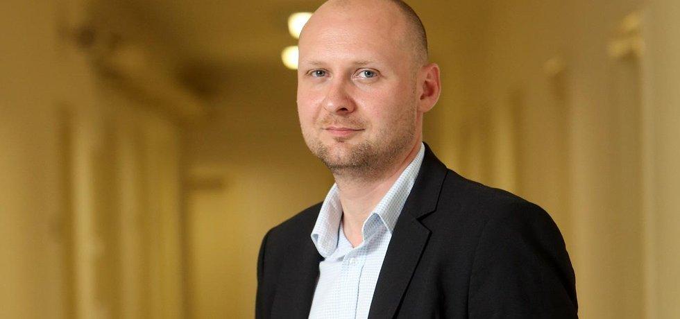 Senátor Lukáš Wagenknecht