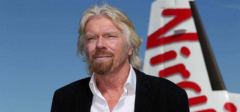 Britský miliardář Richard Branson (Zdroj: Youtube)