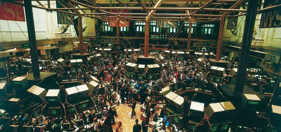 Burza cenných papírů v New Yorku, ilustrační foto