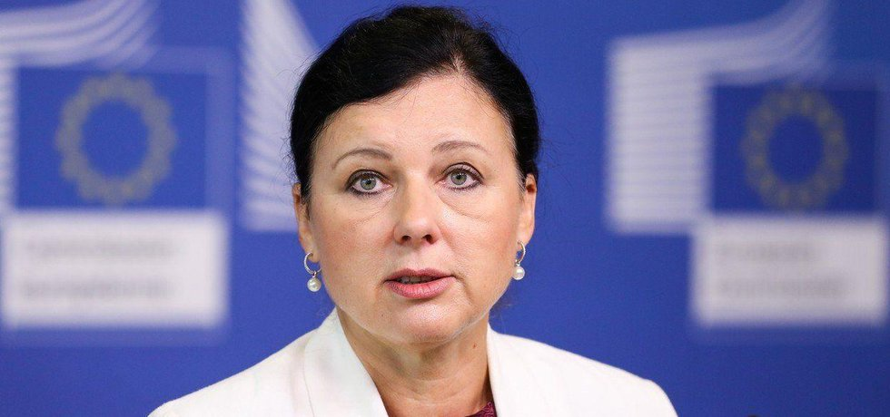 Eurokomisařka Věra Jourová, ilustrační foto