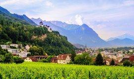 Vaduz, hlavní město Lichtenštejnska