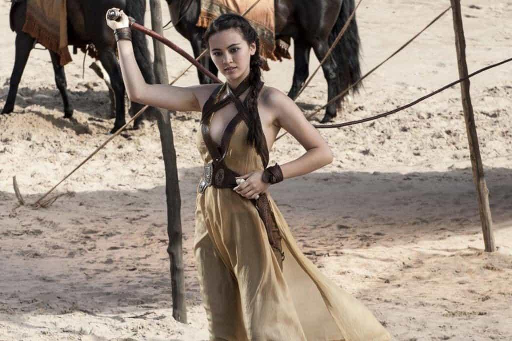 Nymeria Sand - mrtvá   Poznámka: Ellaria, Obara, Nymeria a Tyene nejsou čistokrevné příslušnice rodu Martell