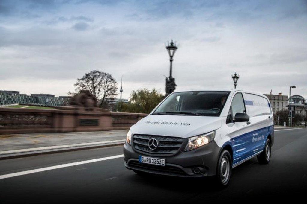 Automobilka Daimler přijímá objednávky na plně elektrickou dodávku eVito.
