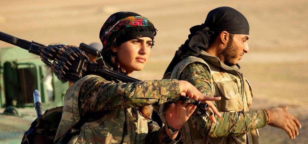 Kurdské jednotky YPG, ilustrační foto