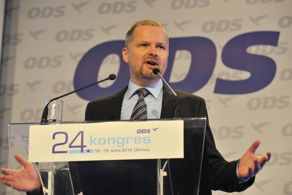 Projev Petra Fialy na kongresu ODS v Olomouci 18. ledna 2014