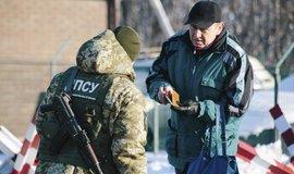 Ukrajinská hraniční kontrola