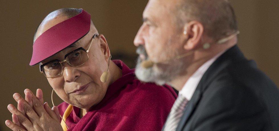 Dalajlama a Tomáš Halík