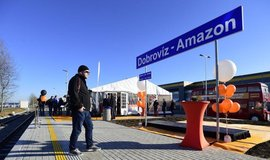 Logistický areál Amazonu v Dobrovízi koupila korejská firma Samsung Securities