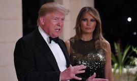 Donald Trump a jeho žena Melania, ilustrační foto