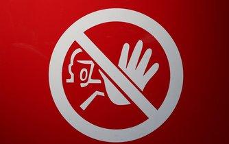 Zákaz vstupu, ilustrační foto