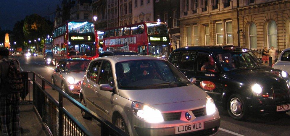Londýnská doprava