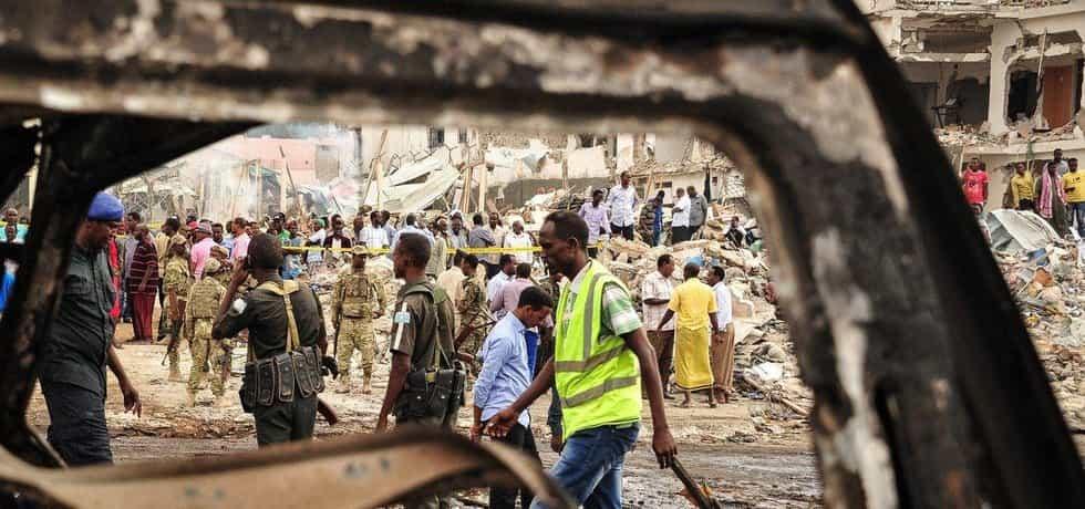 Útok ze 14. října způsobil v Mogadišu obrovské škody