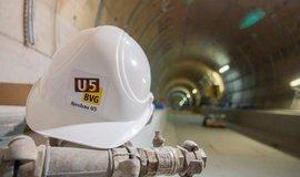 Stavba nové trasy berlínského metra