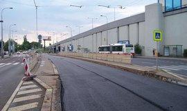 Rekonstrukce tramvajové trati v Praze 10