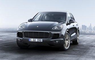 Porsche Cayenne Diesel Platinum Edition.