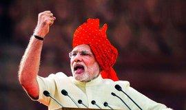 Triumf hinduistického hlídače. Indický premiér Módí vybičoval emoce náboženskou rétorikou