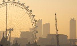 Smog v Londýně, ilustrační foto
