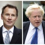 Jeremy Hunt a Boris Johnson